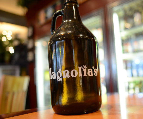 magnolias-beer-growler